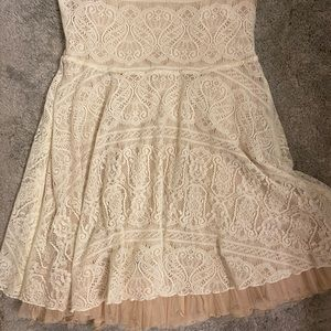 Free People Dresses - Free People Strapless Beaded Dress Size N